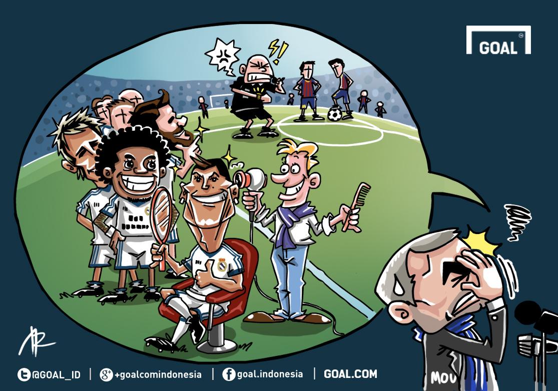 GALERI Kartun Goal Indonesia Real Madrid Si Pesolek Goalcom