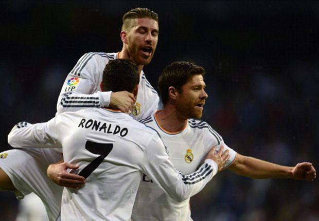 Real Madrid sigue líder tras vencer a Levante