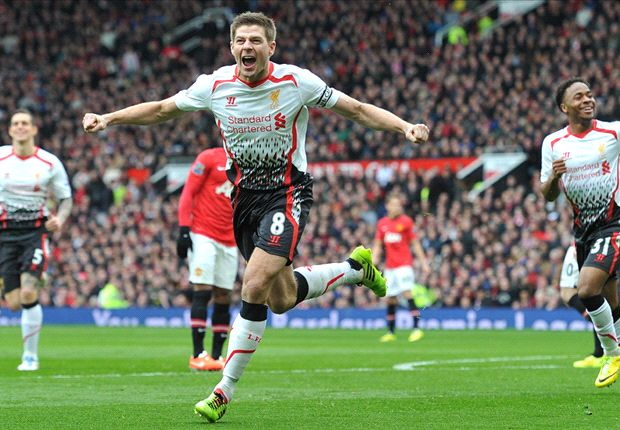 Manchester United 0-3 Liverpool: Gerrard & Suarez embarrass 10-man hosts