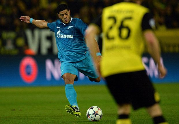 Hulk spara il missile che buca Weidenfeller
