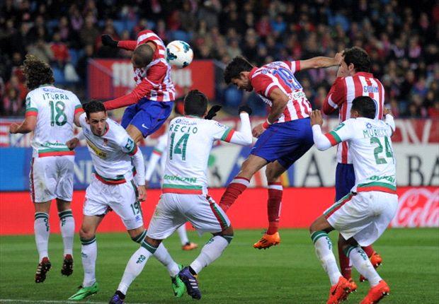 Costa, goleador de la noche
