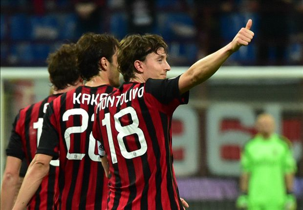 AC Milan 1-0 Catania: Montolivo extends Rossoneri winning streak