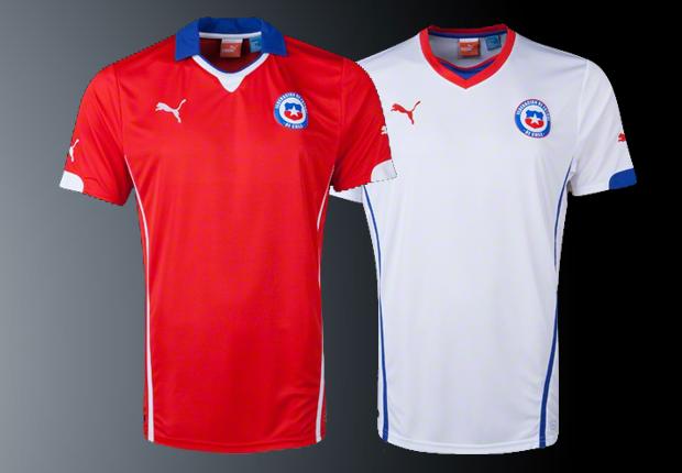 Las camisetas de Chile en los mundiales - Chile 1962 - Goal.com 5c73f81d8427b