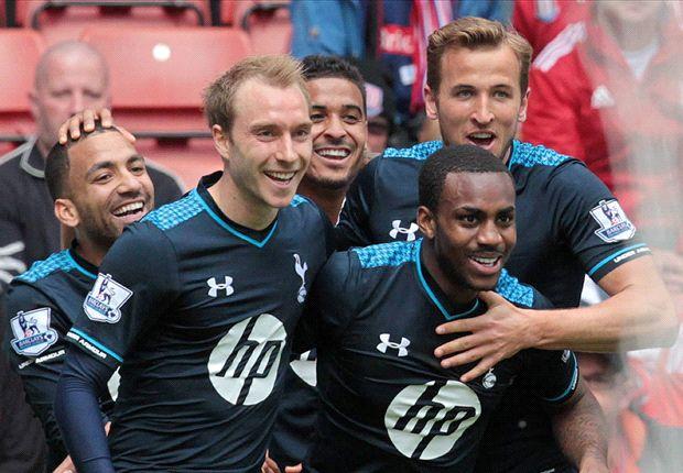 Stoke City 0-1 Tottenham: Rose header sinks 10-man Potters