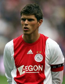Klaas-Jan Huntelaar, Ajax (PA)