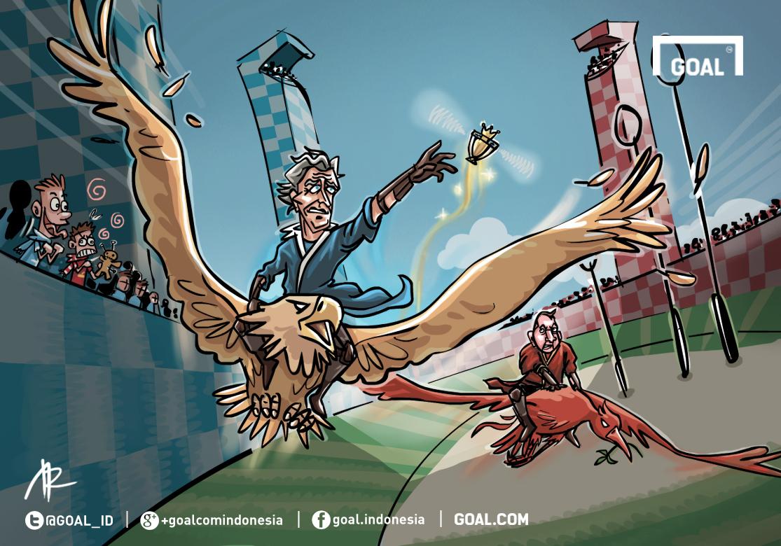 GALERI Kartun Goal Indonesia Balapan Terakhir Goalcom