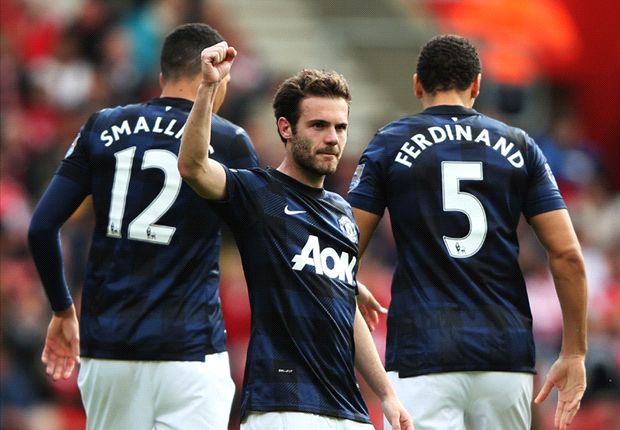 Southampton 1-1 Manchester United: Mata free kick earns point in Giggs' final game as temporary manager