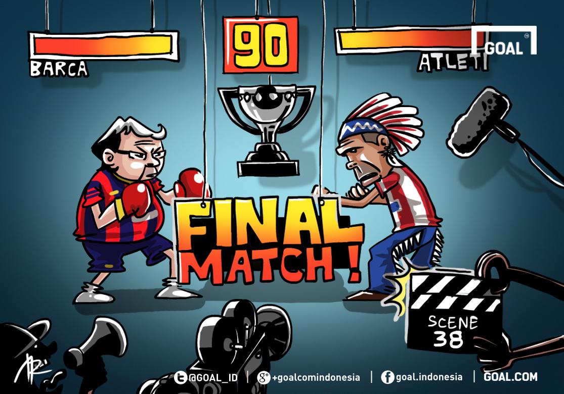 GALERI Kartun Goal Indonesia Pertarungan Terakhir Goalcom