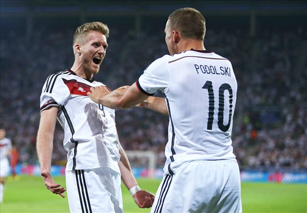 Germany 6-1 Armenia: Klose claims record but win marred by Reus injury
