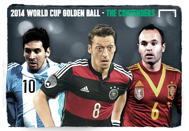 2014 World Cup Golden Ball - The Contenders