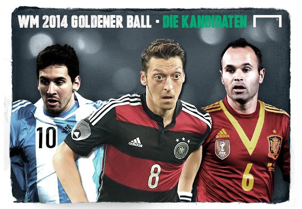 WM 2014 - Die Anwärter auf den Goldenen Ball