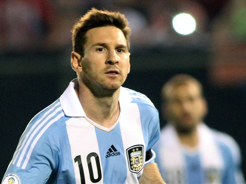 Maradona tells Messi: Win the World Cup for Argentina