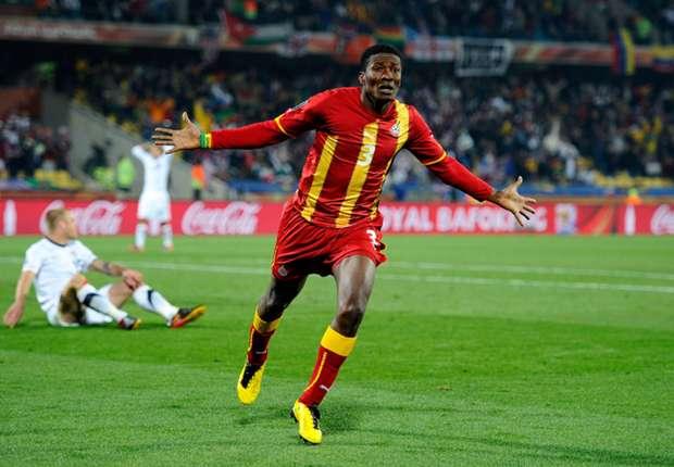 Top five Asamoah Gyan goals for Ghana | Goal.com