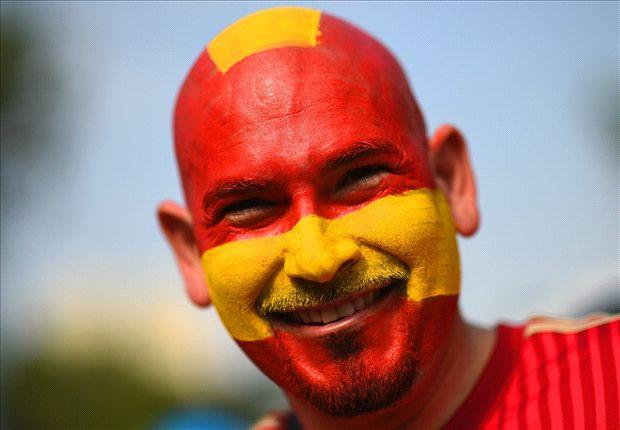 Galeri Warna Warni Piala Dunia 2014 Aneka Warna Cat Wajah Goal Com