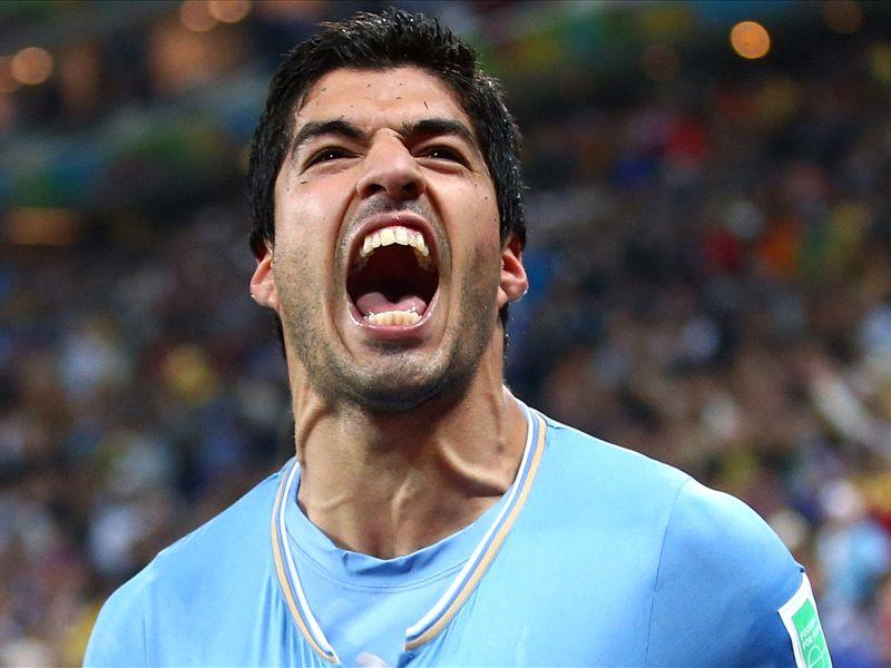 Where is England's Luis Suarez?