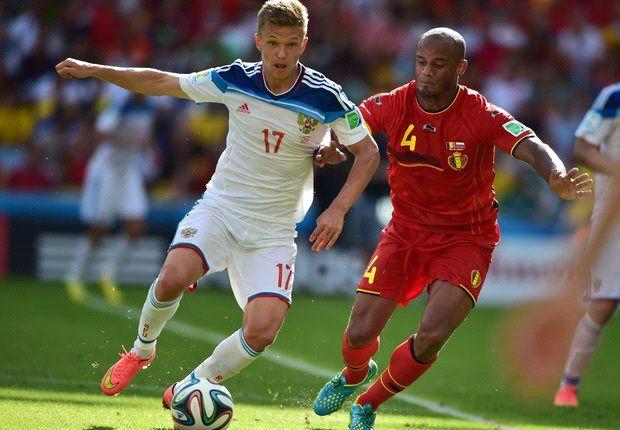 Bélgica venció a Rusia y clasificó a octavos de final
