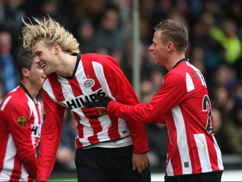 Eredivisie Round Up Psv Thrash Ado Den Haag Az And Twente Win Too Goal Com