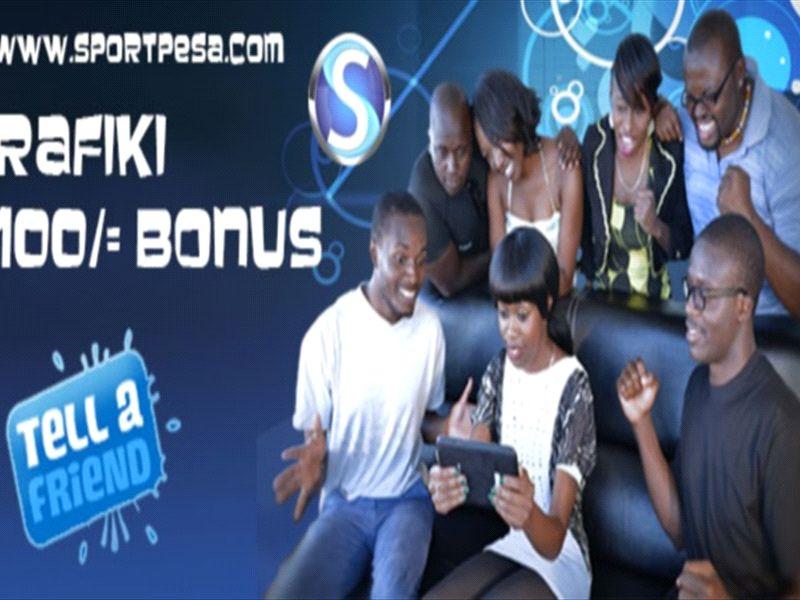 SportPesa Rafiki Bonus: Getting paid through a friend | Goal com