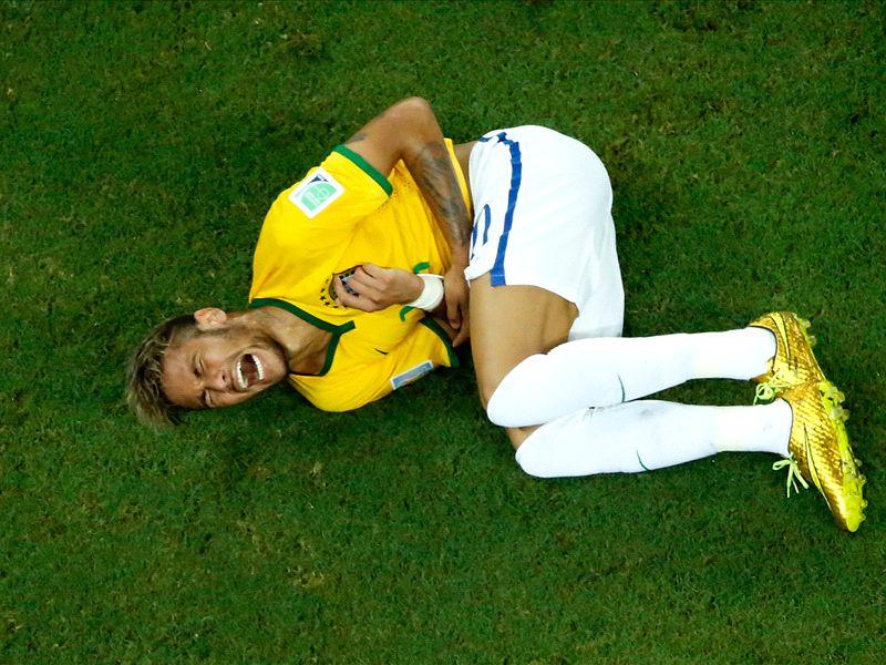 Neymar no podrá volver a jugar en el Mundial 2014