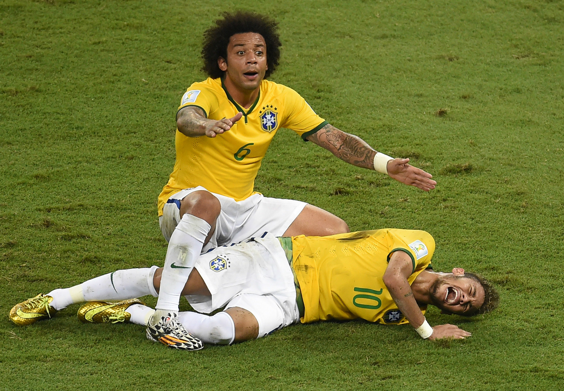 Five high profile World Cup injuries