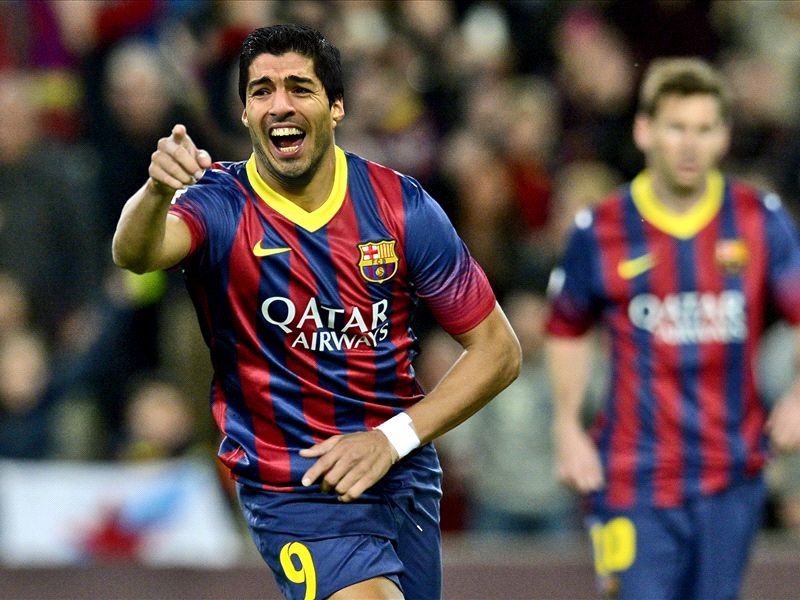 El Barcelona hace oficial el fichaje de Luis Suárez