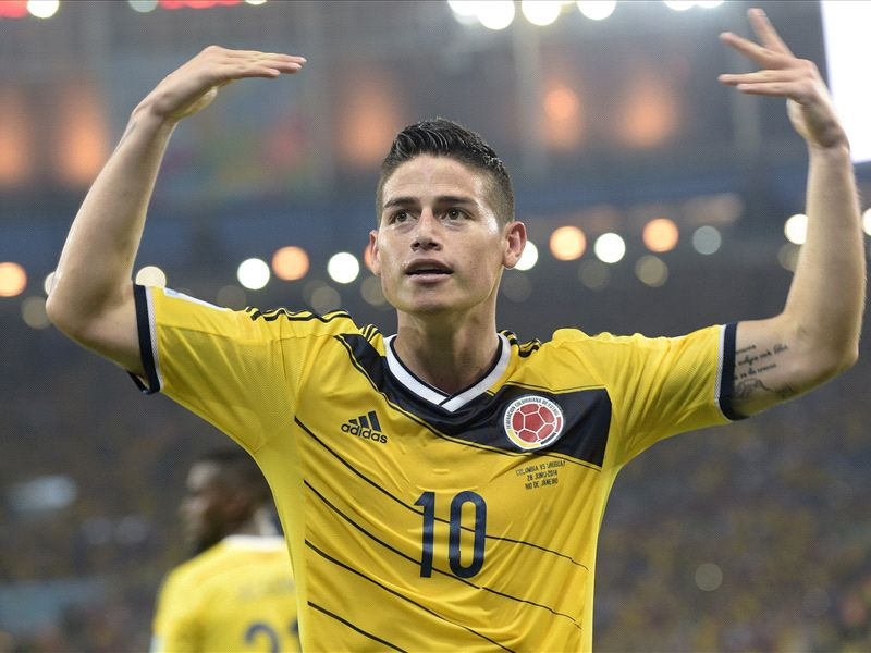 DONE DEAL: Real Madrid reach £70m James Rodriguez agreement