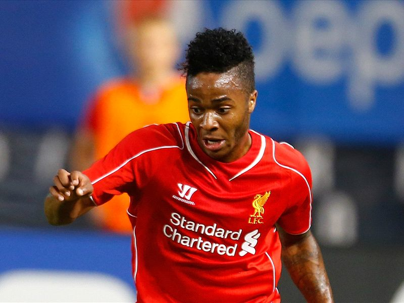 Liverpool boss Rodgers thrilled by 'outstanding' Sterling