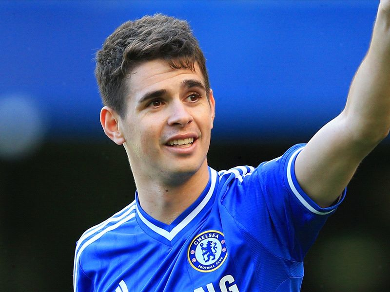 timeless design f8293 527b5 Oscar takes Lampard's No.8 shirt & Hazard No.10 as Chelsea ...