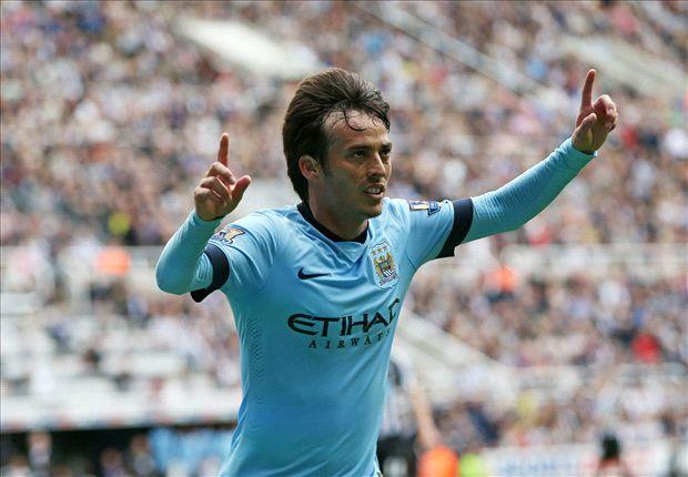 Newcastle 0-2 Manchester City: Silva & Aguero get champions off to winning start