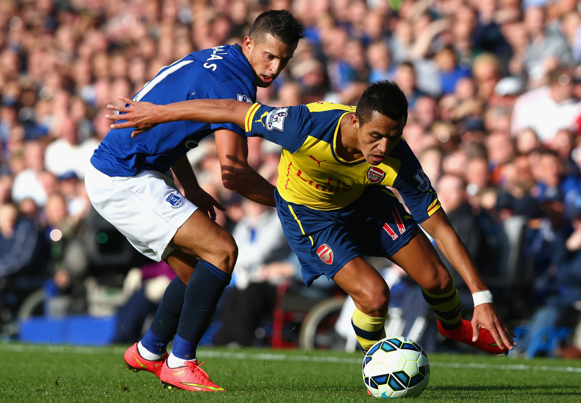 Five things we learned from Everton 2-2 Arsenal