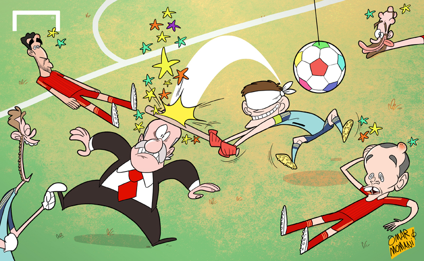 Cartoon Of The Day October Casillas Hurting Spain S Euro 2016