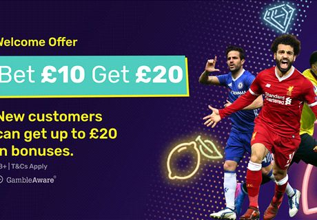 Bet £10, get £20 in free bets - dabblebet offer