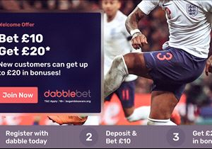 Betting offer: Football fans - bet £10, get £20