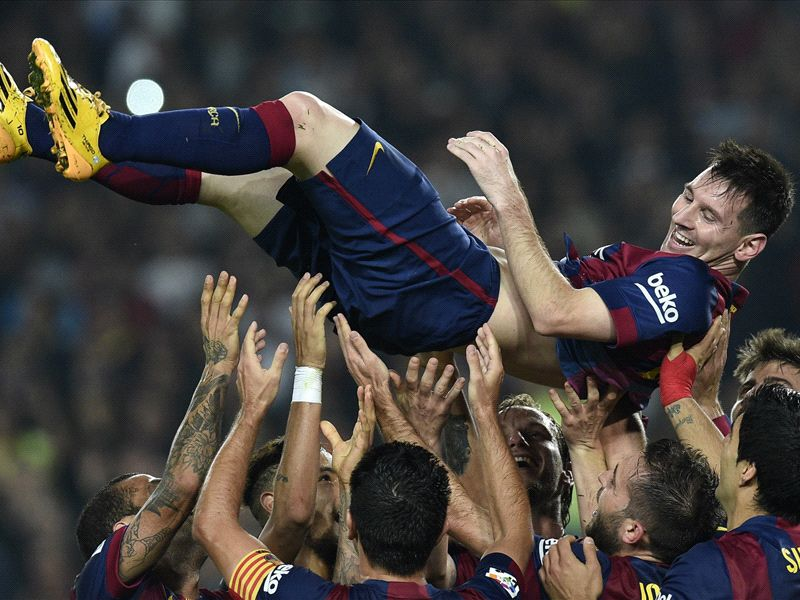 Messi record disputed by Zarra family