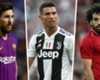 Messi, Ronaldo, Salah & the Top 20 scorers of 2018