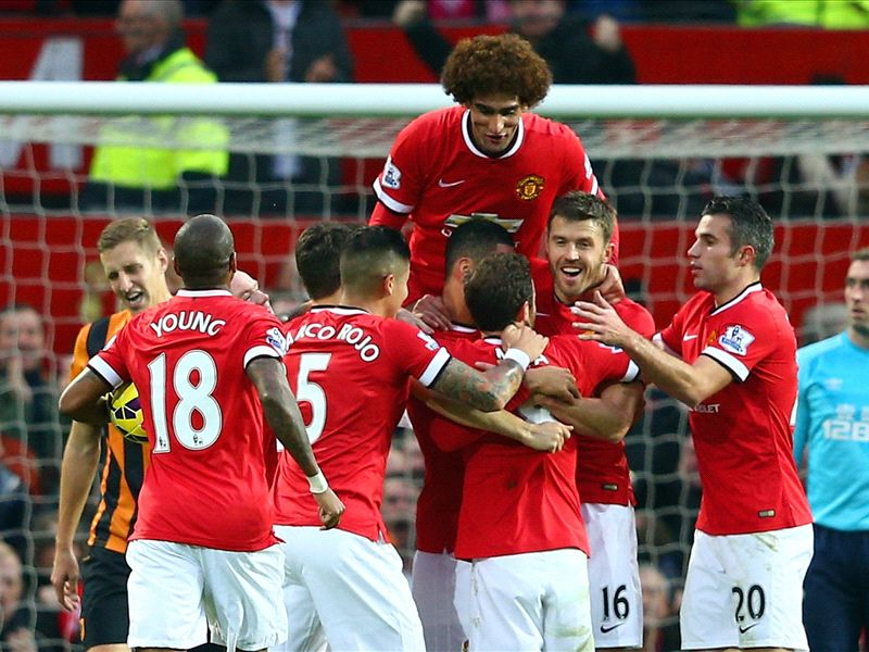 Manchester United dominant again - it's been a long time coming