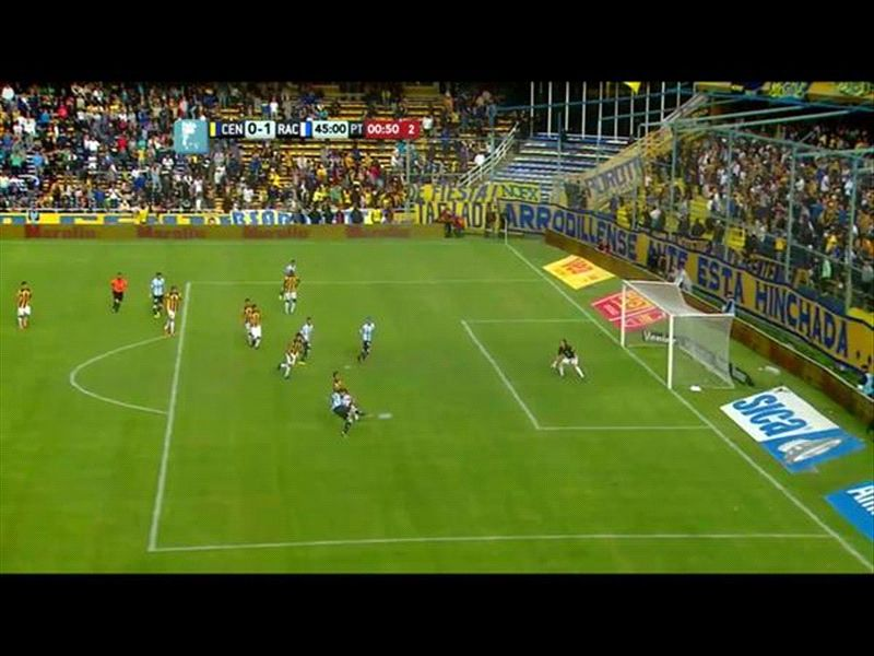 El gol de Gastón Díaz era offside
