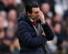 Arsenal's away form a concern, admits Emery