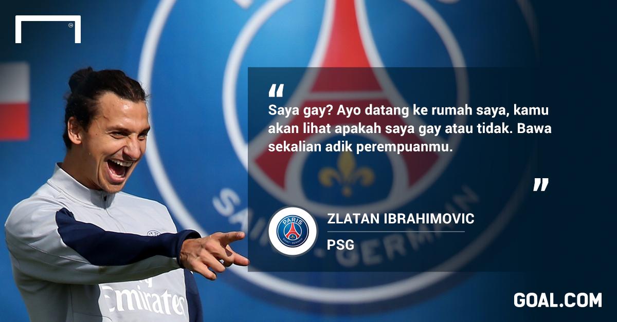 Spesial Sepuluh Momen Kutipan Dahsyat Zlatan Ibrahimovic Goal Com