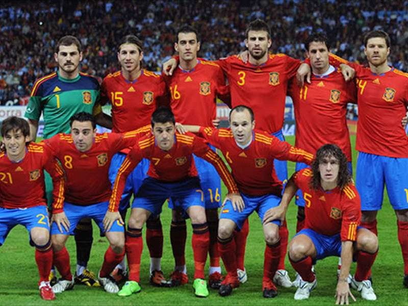 Breaking News World Cup 2010 Spain Squad Barcelona Stars Victor