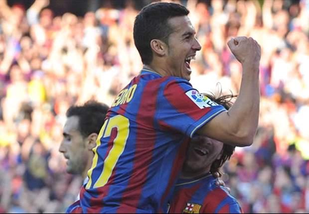 ESP, Barça - Pedro prolongé